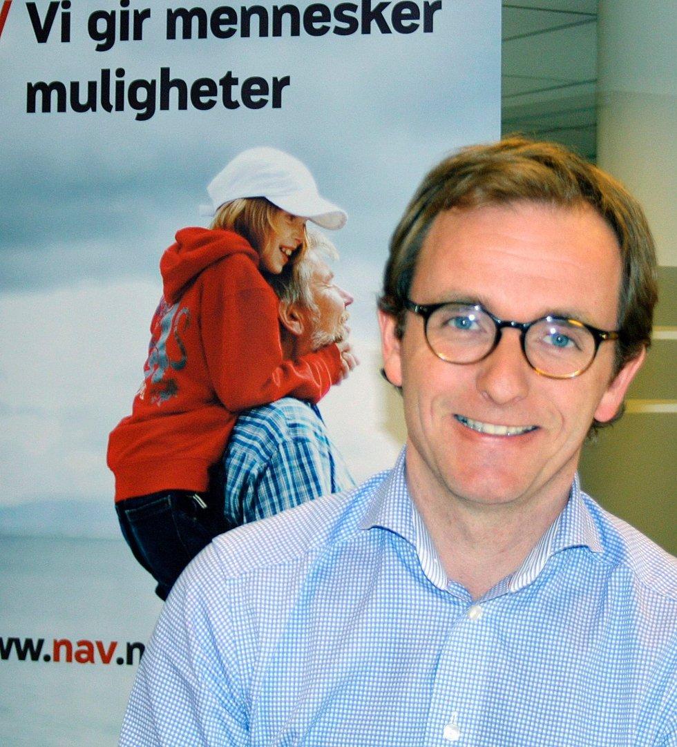 Sykefraværet er lavest i Asker og Bærum, forteller fylkesdirektør i NAV Akershus, Oddvar Paulsen.