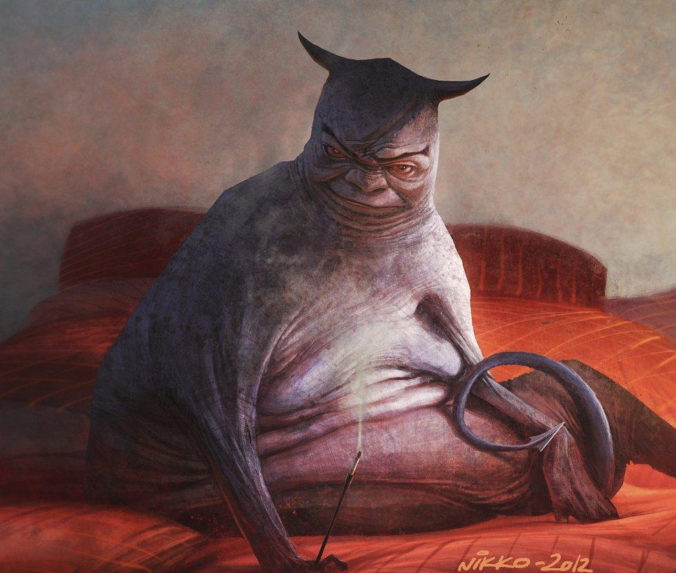 Fotorealistisk: Mange av bildene til Nikolay Lockertsen er svært realistiske, andre er mer fantasifulle, som dette.