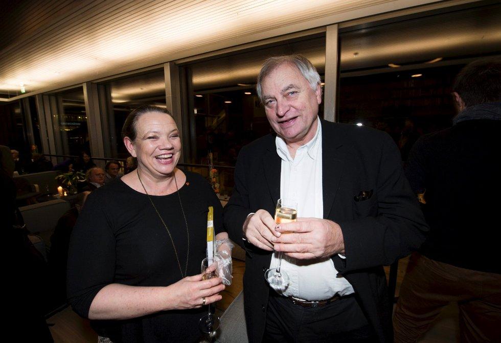Camilla Sørensen Eidsvold og Egil Syversen