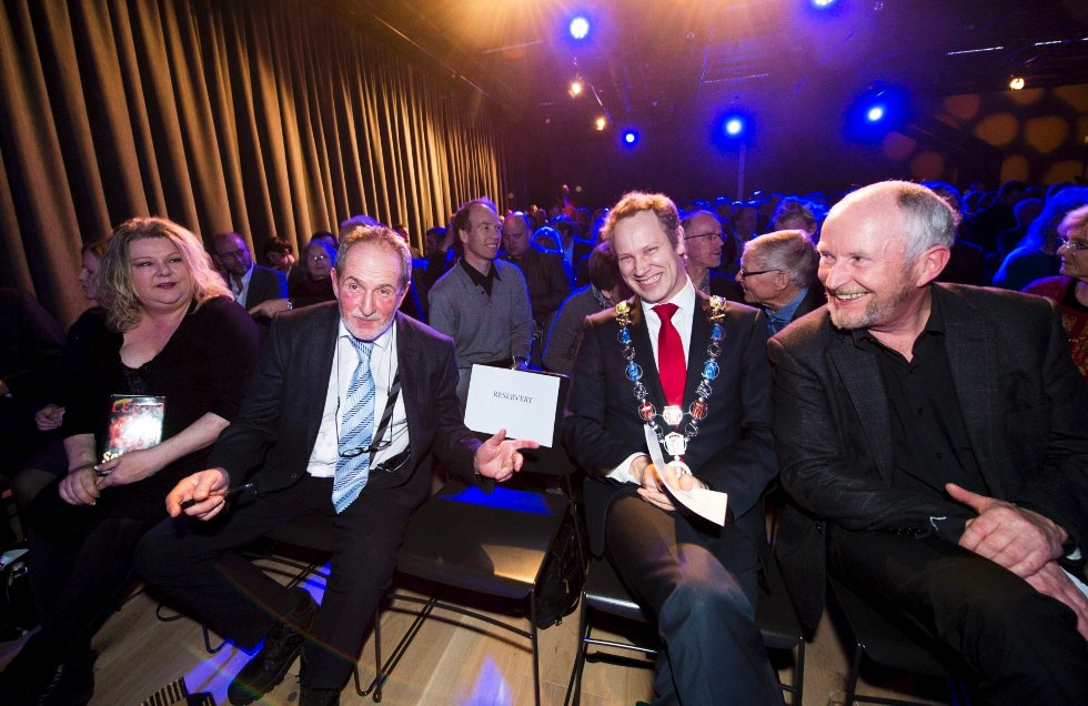May Grethe Lerum, Jon Michelet, Jon-Ivar Nygård og Ole Haabeth