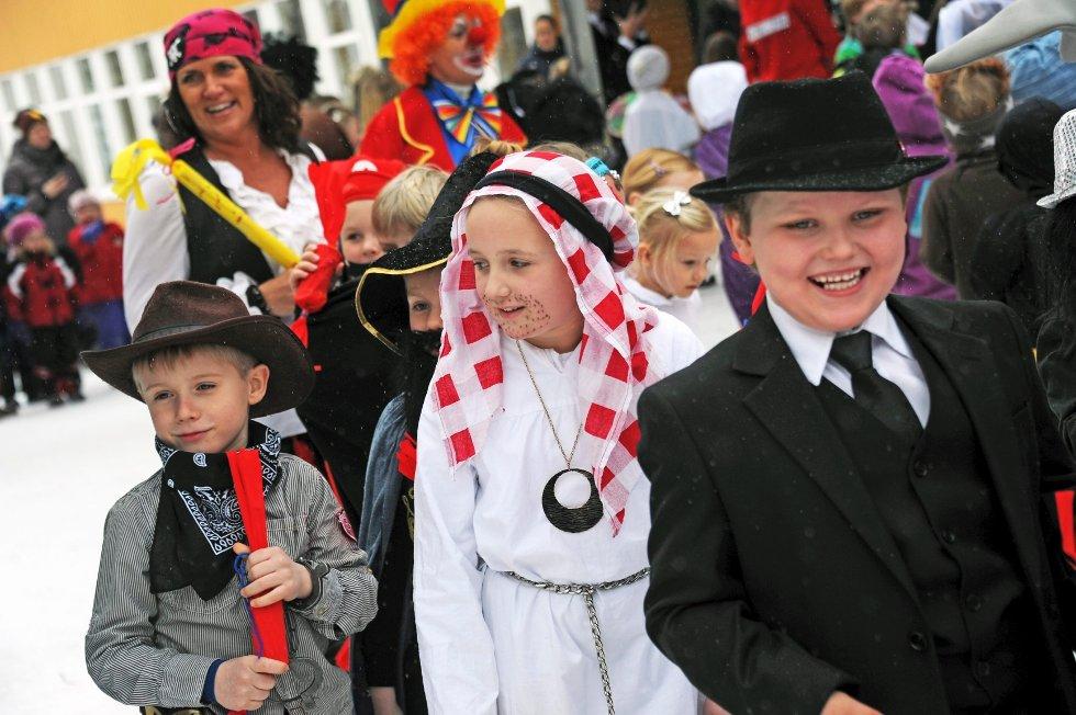 Karneval på Manstad skole