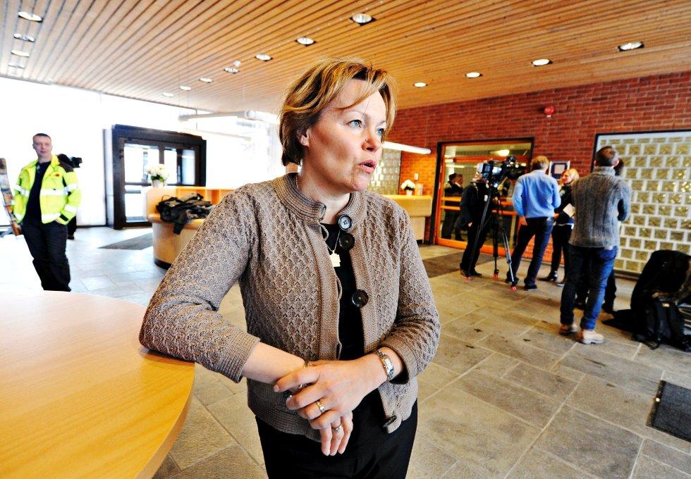 Gunilla Saltin, administerende direktør ved Södra Cell Tofte.
