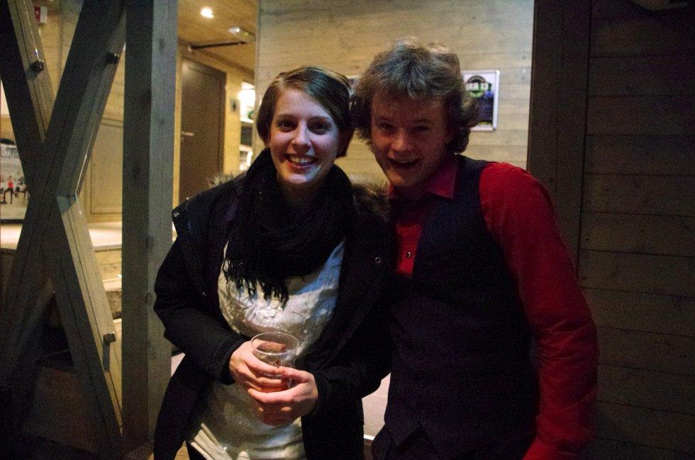 Madeleine og Valdemar har vært på konsert, også de på Jernet. Nå har de dog planer om å komme seg videre.