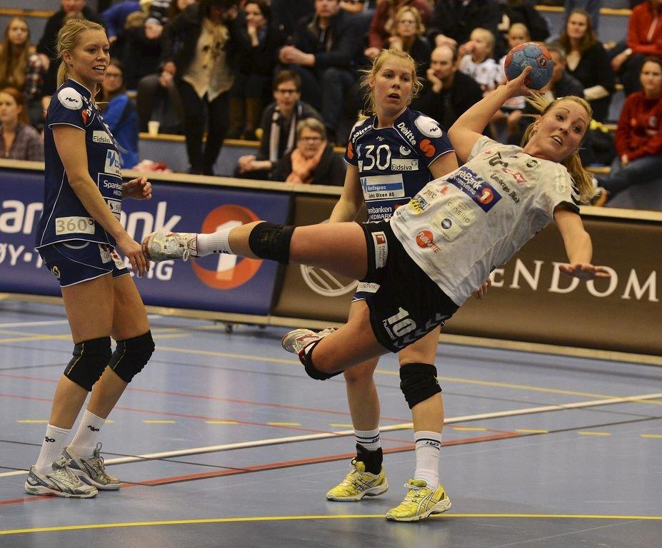 Ellen Marie Folkvord scoret fem mål og ble kåret til banens beste spiller.