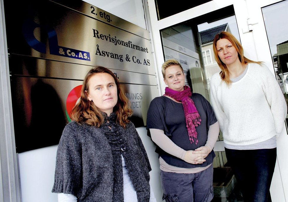 Monika Aafos (fra venstre), Monica Undseth og Pia Borges er alle barnehagelærere og tillitsvalgte i Utdanningsforbundet. De merker at tidspresset har økt og håper på tilstrekkelig bemanning i barnehagen i framtida.