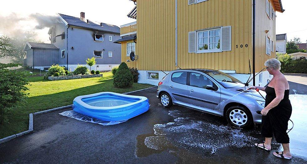Under «Årets bilde 2013» vant FB-fotograf Geir A. Carlsson  tredjepremie i kategorien «Dagligliv i Norge» for dette bildet han tok på Lisleby i juli i fjor.