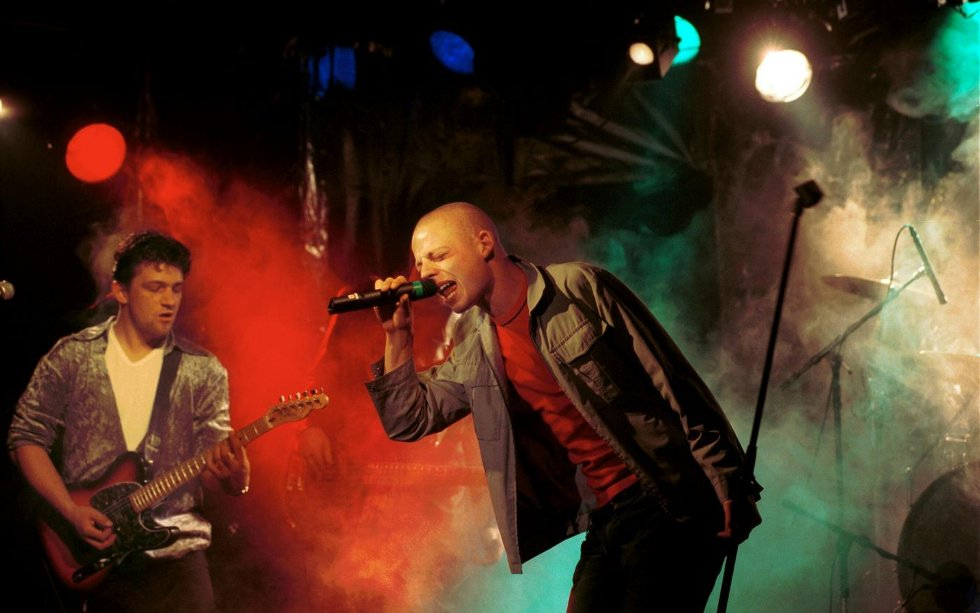 Jarle Bernhoft har mange konserter bak seg på Musikkflekken. Her fra en konsert i 2000.