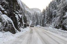 RV. 13 Oddadalen vinter vinteføre