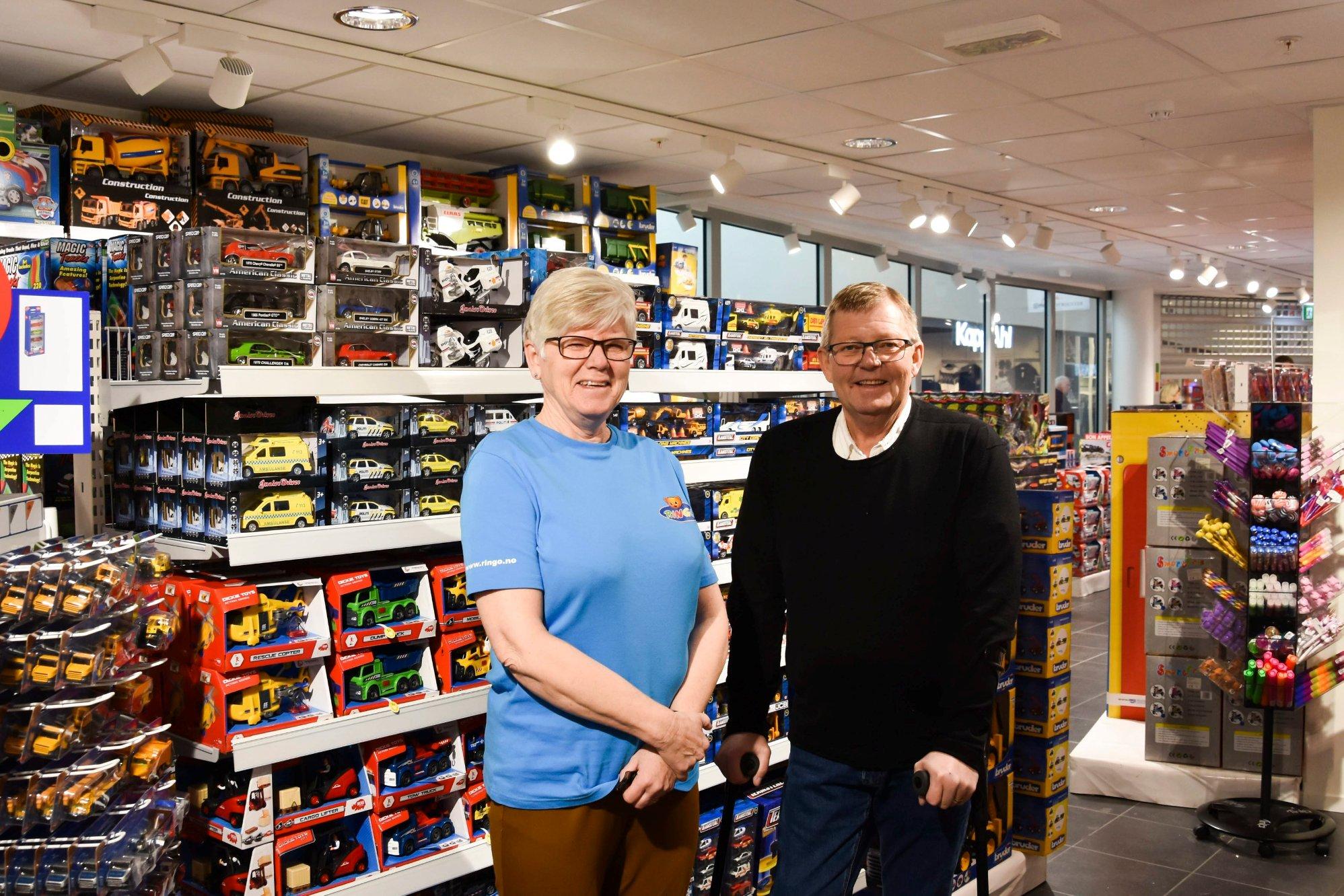 Økelsrud tilbake med lekebutikk i Dala: – Vi skal klare å selge leker for fem millioner kroner