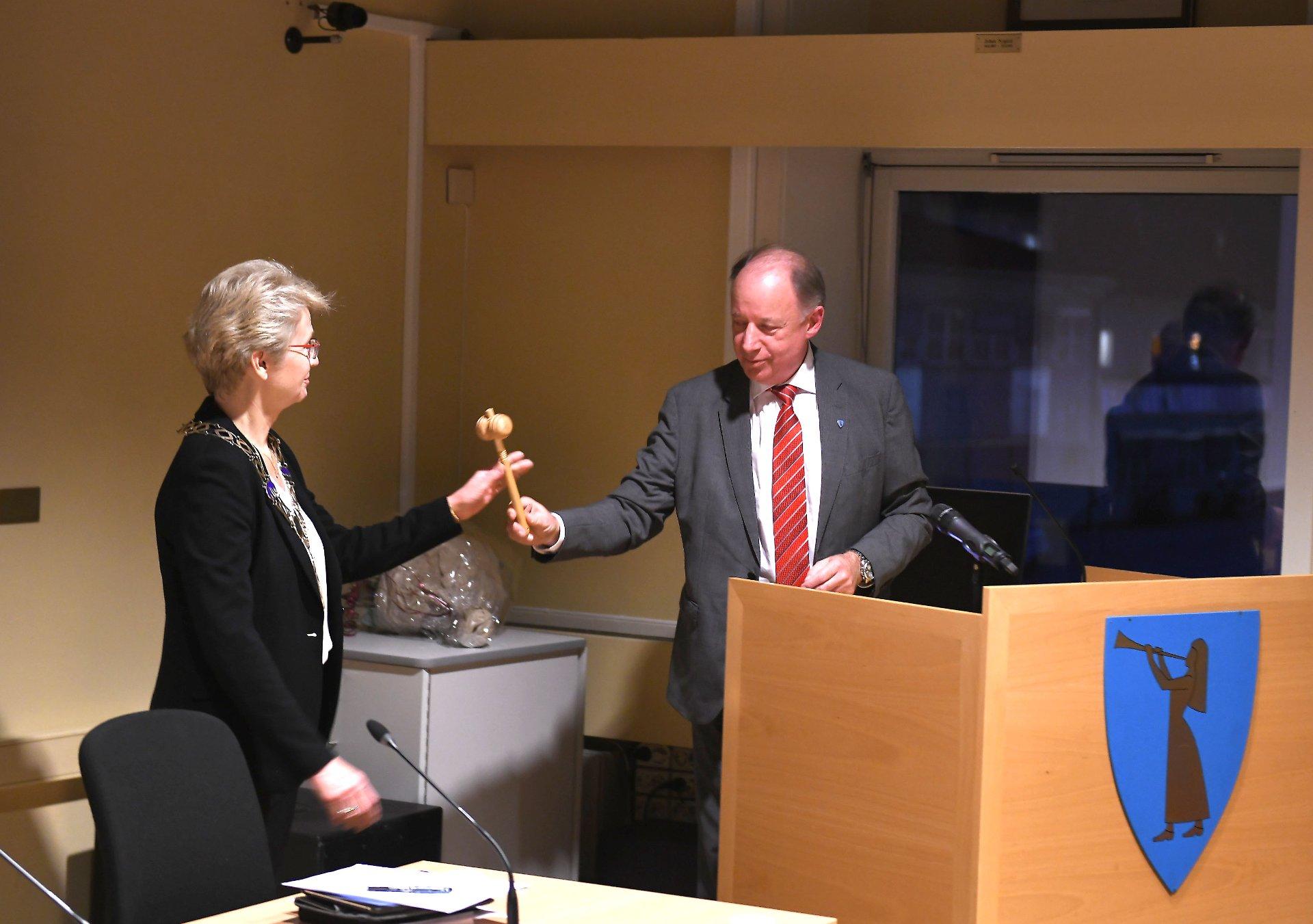 – Det er ingen grønnskolling som overtar ordførervervet i Sel