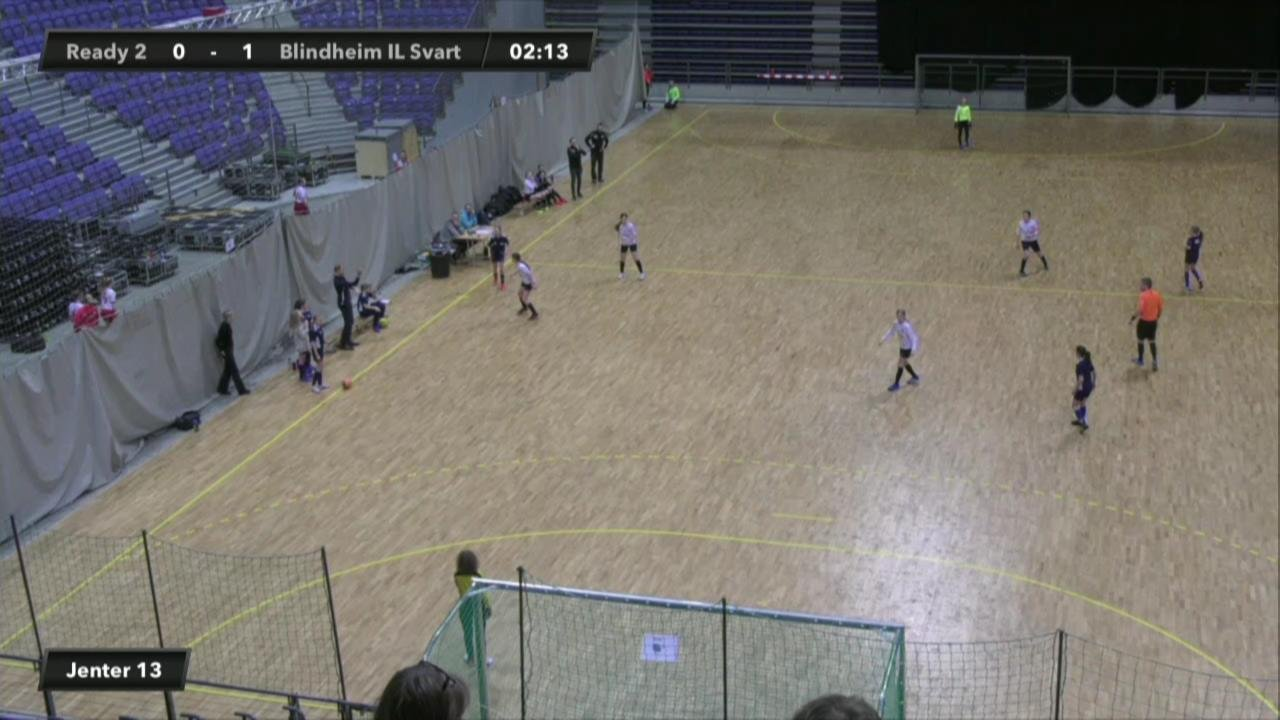 Ready 2 mot Blindheim IL Svart (Jenter 13)