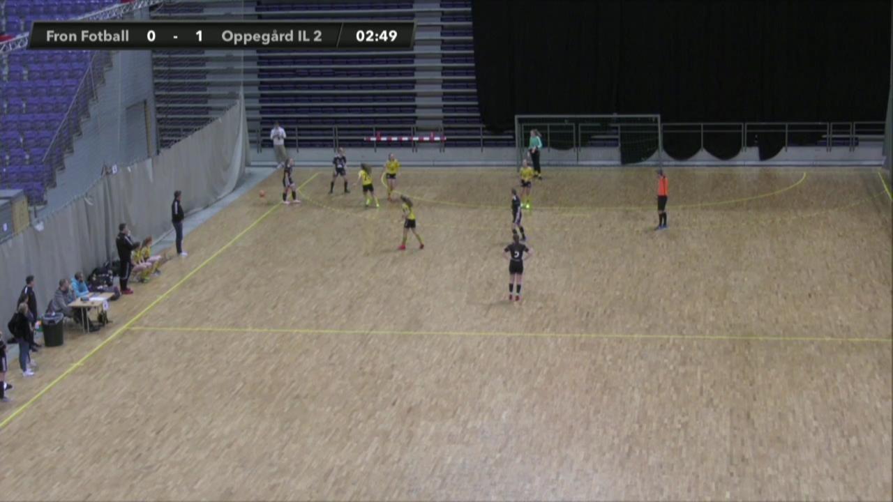 Fron Fotball mot Oppegård IL 2 (Jenter 19)