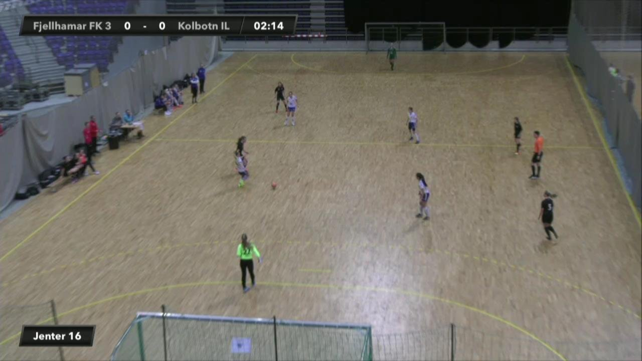 Fjellhamar FK 3 mot Kolbotn IL (Jenter 16)