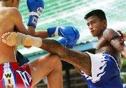 For første gang ble det arrangert en konkurranse i Thaiboxing i et fengsel i Thailand. Thaiboxing er den mest populære sporten i landet.