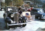 Bergen Veteranvogn-Klubb hadde vårslepp lørdag fomiddag på Festplassen. Klubben har 25års-jubileum i år. Medlemmene viste frem rundt 40 staselige veteranbiler i vårsolen.