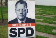 Valgplakat for Willy Brandt og SPD