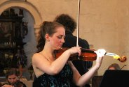 Helgeland Sinfonietta med konsert i Alstahaug kirke. Foto: Kari-Ann Dragland Stangen