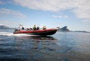Steder i Rødøy du kan besøke med båt. Foto: Yngve Brox Guldbjørnsen