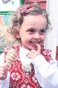 04.10. Victoria Grønning Resset. Gratulerer så mye med 4-årsdagen din! Håper du får en kjempefin dag, go'jenta vår. Bursdagsklemmer fra bestemor og bestefar.