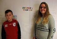 Tverlandet skole i Leirfjord jobber med prosjektet Kverner i bygda vår til Nysgjerrigper 2015.