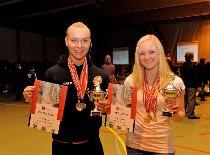 Karen Hesthammer (20) tok sølvmedalje i  markløft under VM  for juniorer.