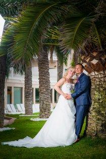Vi giftet oss lørdag 30. august på Mallorca. Jørgen Løvdal, Kristiansand og Farrah Schulze, Kragerø.