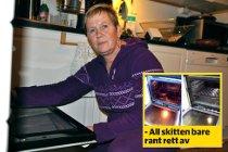 Katten Mia kastet opp natten da Gunvor Heggem tok i bruk det omtalte trikset for å få en skinnende rein ovn. Nå vil matmor advare andre.