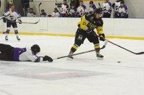 målscoring på hockeyisen