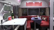 Airstream campingvogn fra caravanmesse på Lillestrøm.