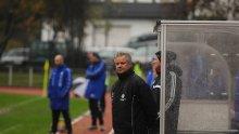 Brede Halvorsen måtte se Jerv vinne 4-0 og rykke opp, samtidig som Pors-treneren innser at Pors må ned i 3. divisjon.