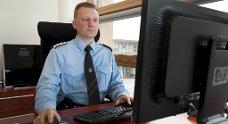 Brannsjef Johnny Breivik.