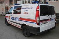 politi, politibil, havna, hurtigruta