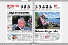 ALLE FÅR TILGANG: Om det blir avisbudstreik, vil alle få tilgang til SAs elektroniske utgave, e-avisen.