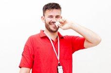 Forsker og anestesilege: Arne Skulberg (38), opprinnelig fra Spydeberg, deltar i Forsker Grand Prix med en nesespray som er utviklet som motgift ved overdoser av heroin. Han jobber som anestesilege i Oslo og forsker ved NTNU i Trondheim.