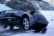 Det lønner seg å være riktig skodd før vinteren setter inn. Foto: Newspress/ANB
