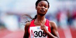 Ezinne Okparaebo feiret semifinaleplassen med en egen dans for TV 2 Sporten thumbnail