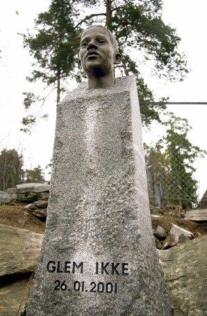 Statue på Holmlia