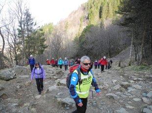 De bratte bakkene opp fra Montana får raskt pulsen til å stige. Med seniorgruppen til Bergen og Hordaland turlag fra Montana, over Nubben og til Sædalen.