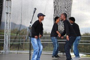 Under jubileet på Alstahaug asylmottak