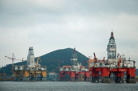 rigg, olje, offshore