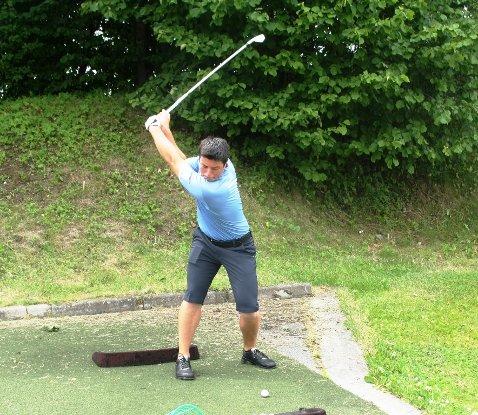 Viktor Hovland ble norgesmester i golf denne helgen.