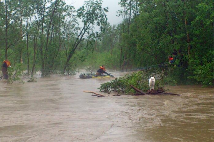 oversvømmelser på sørlandet