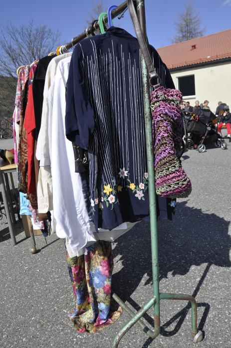 Loppemarked på Slettebakken skole (22.04.2012).