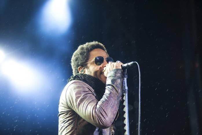 Lenny Kravitz-konsert på Plenen lørdag 16.06.2012.