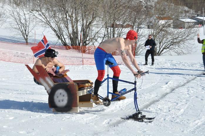 Как развлекаются норвежцы:)