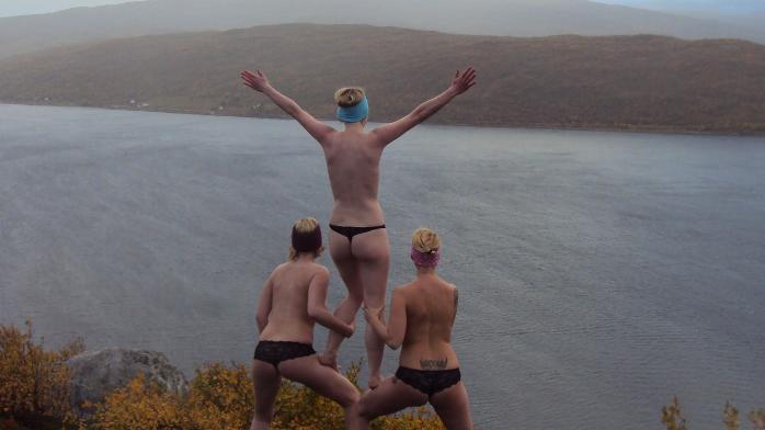 nakenbading jenter bilder lesbiske