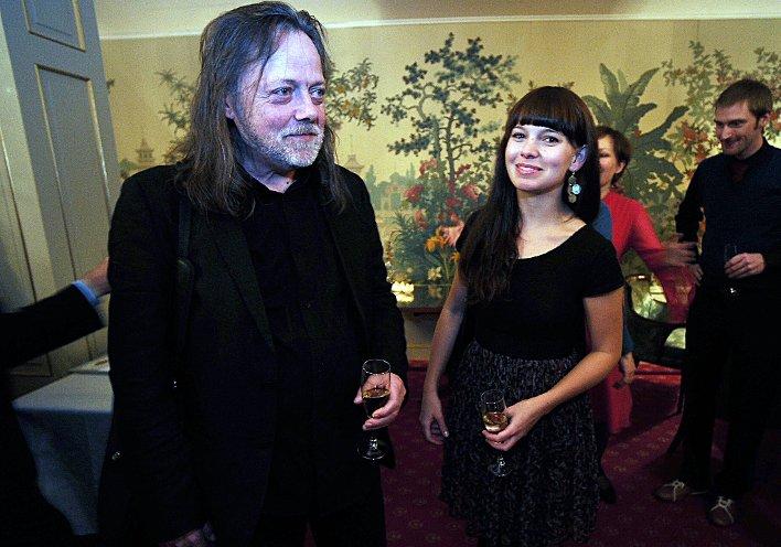 Lillebjørn Nilsen og Marit Larsen fikk hver sin pris. Foto: Vidar Ruud, ANB