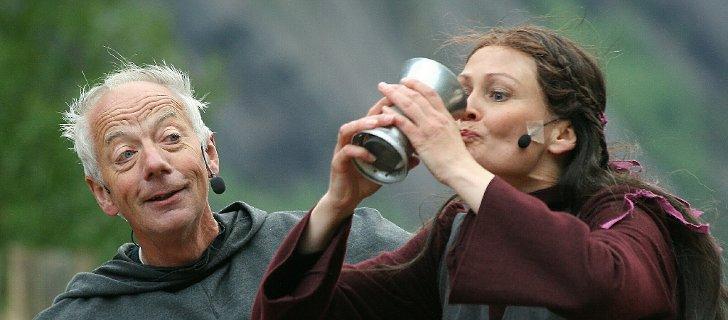 Munken og Rike Ragna. Foto Johs H Sekse, Hardanger folkeblad