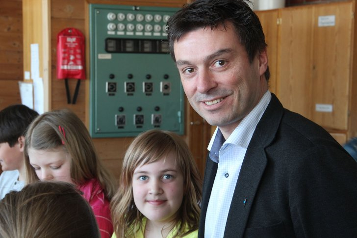 Odd Arnold Skogsholm er tilbudt stillingen som sjef for kulturbadet i Sandnessjøen.