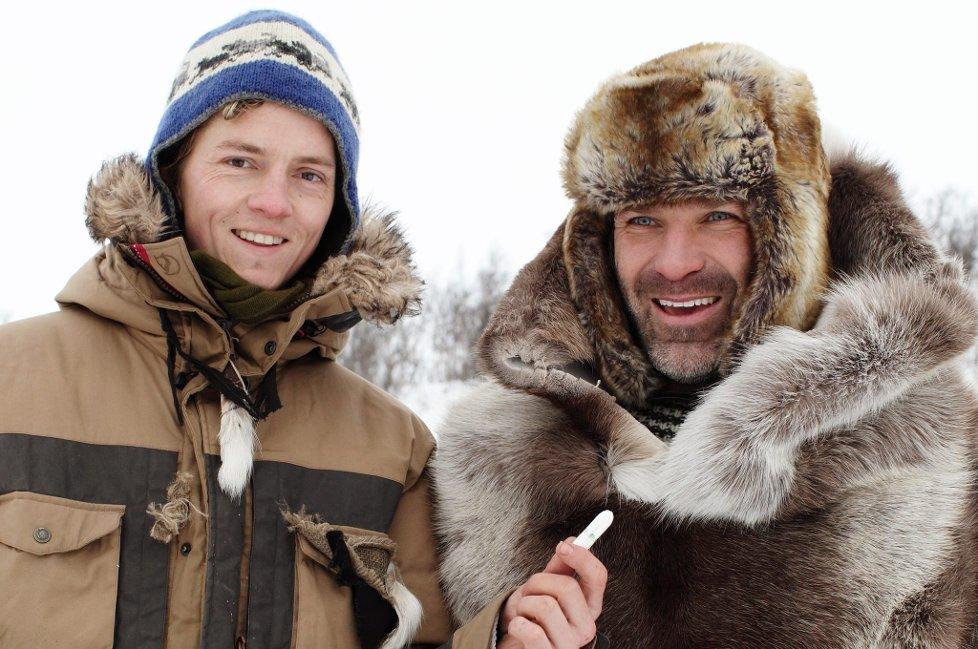 Ørjan Danielsen og Jan-Kåre Heiberg fra Gjøvik er med på årets Robinson-ekspedisjon, Jan-Kåre valgte tamponger som personlig eiendel! thumbnail